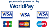 Secure Online Payments via WorldPay