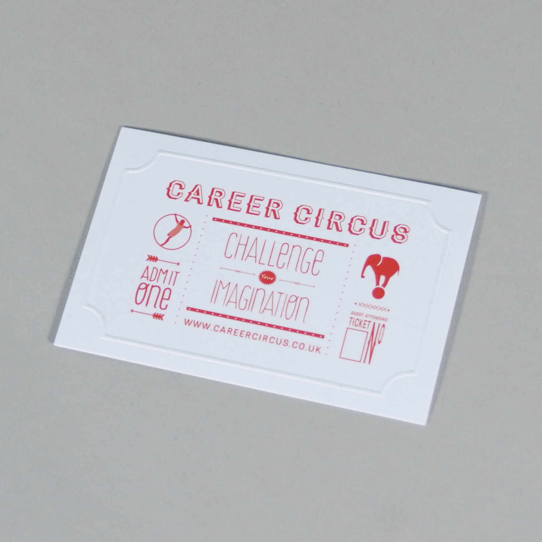 Career Circus Business Card