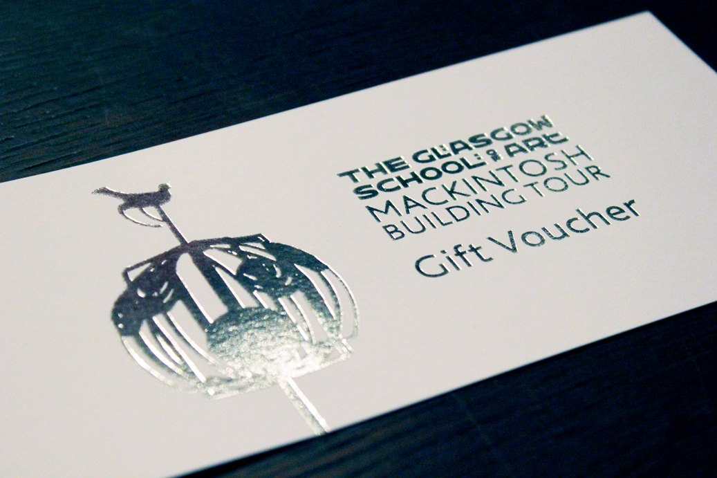 Glasgow School of Art Gift Voucher