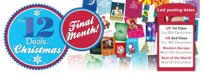 12 Deals of Christmas Final Month