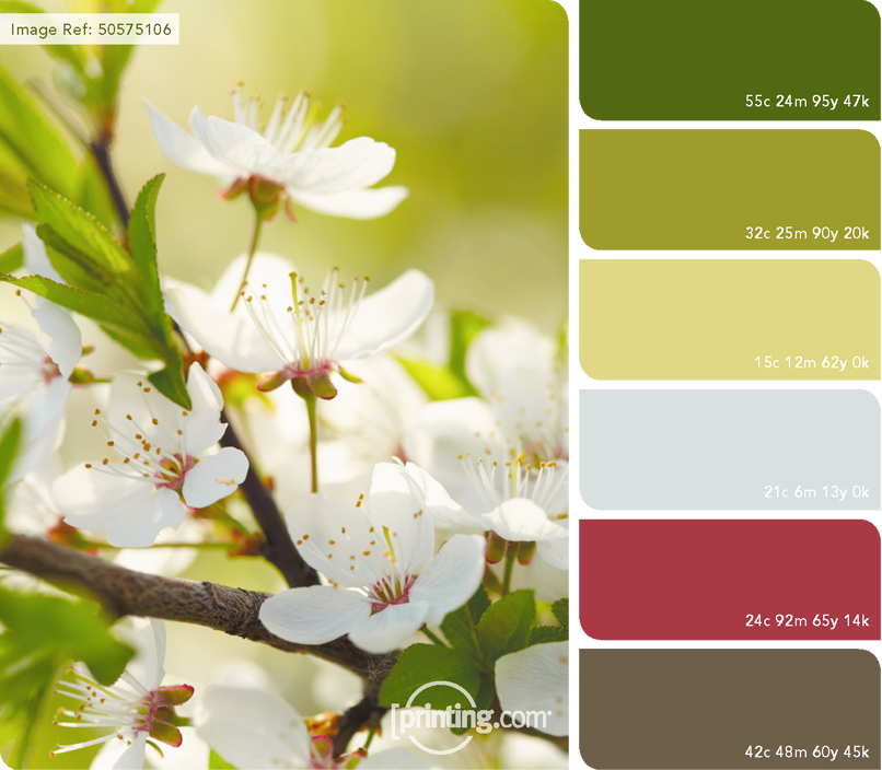 April Colour Palette