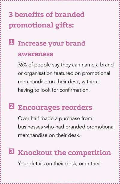 benefits of branded gifts