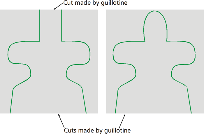 how to supply a die cut file uk