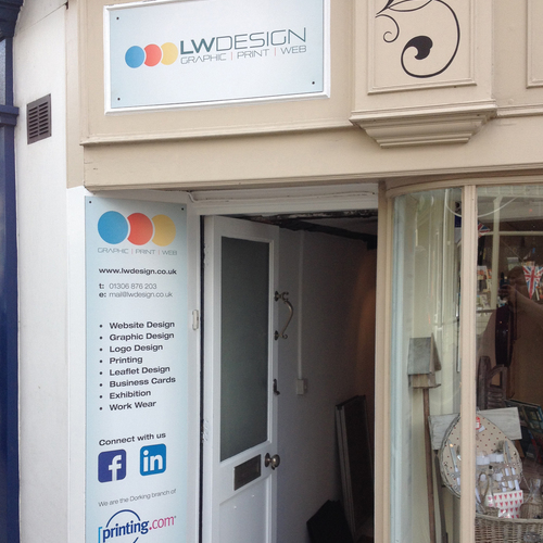Printing, design and web in Dorking