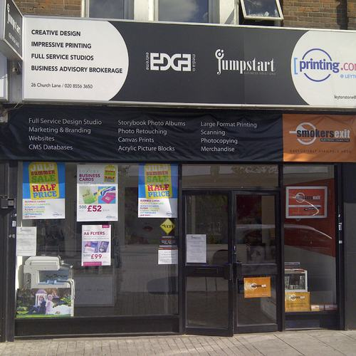 Printing, design and web in London - Leytonstone