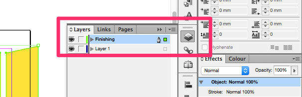 how to use overprint preview