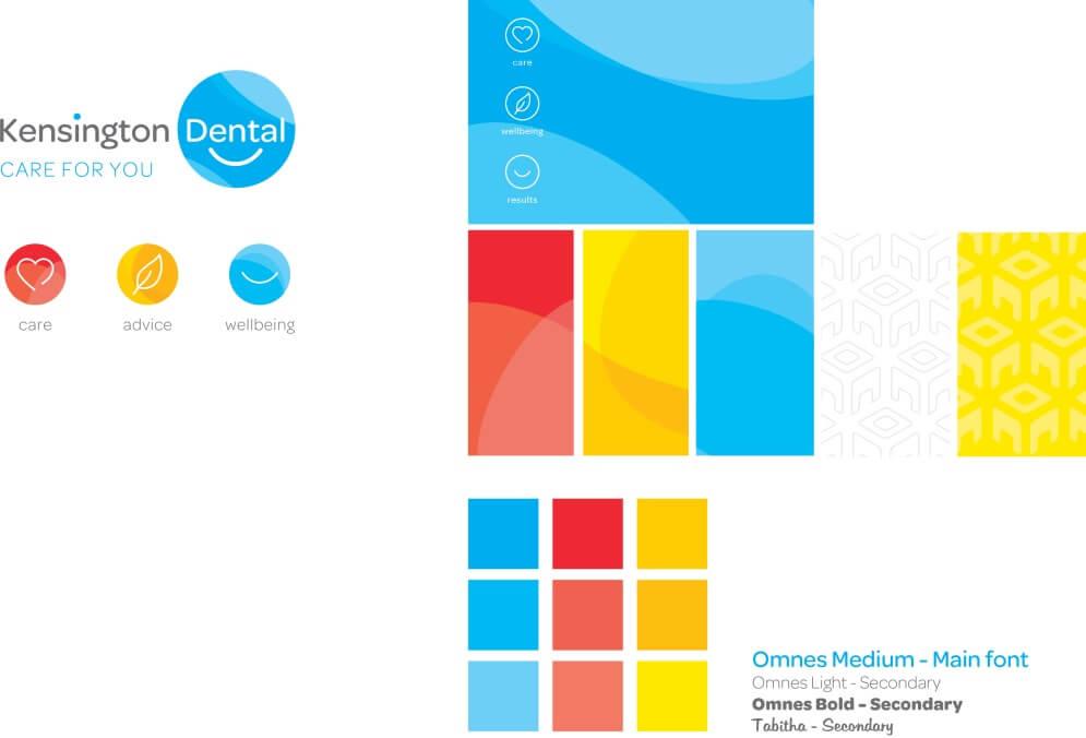New Branding for Kensington Dental