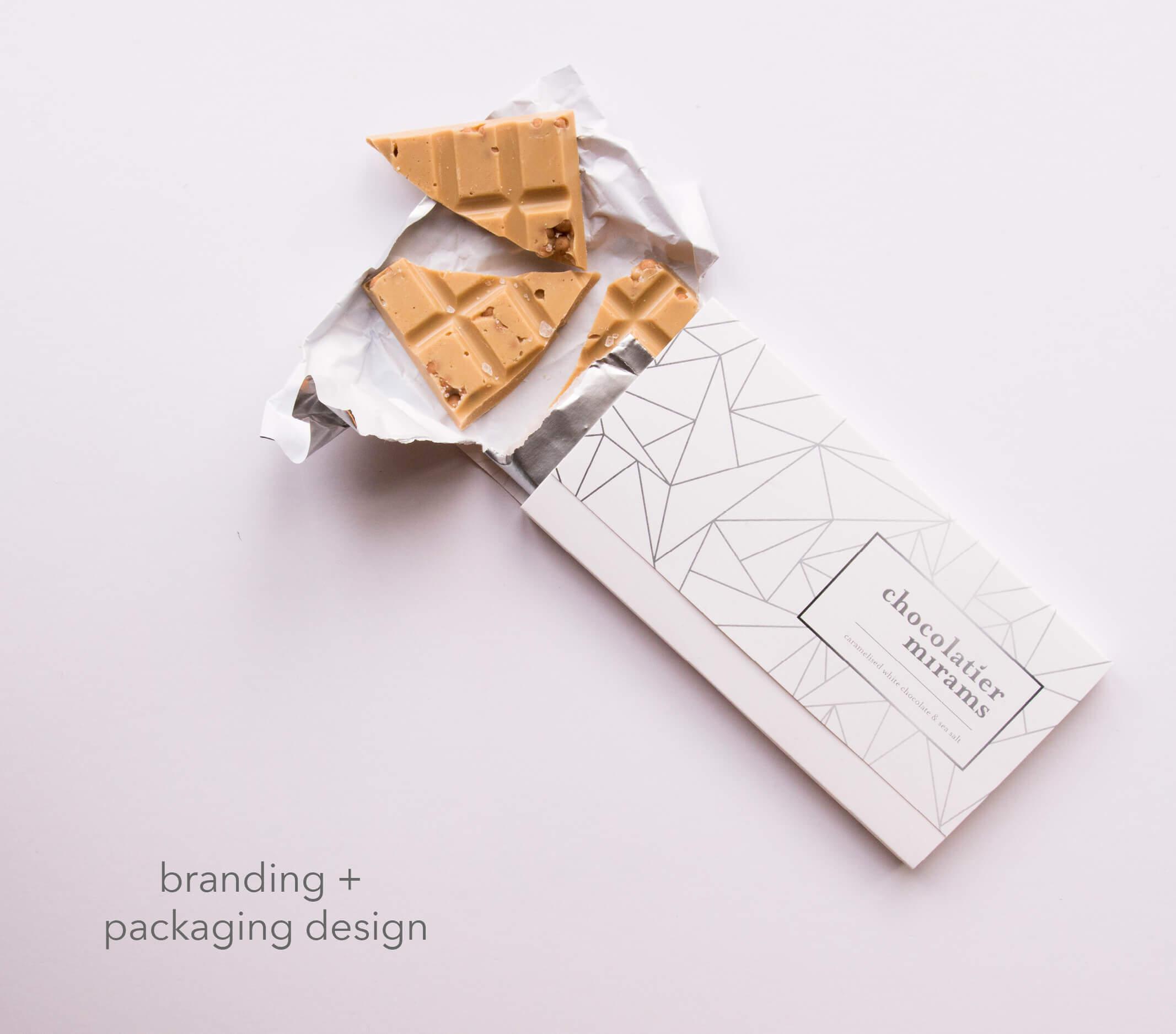 Chocolatier Mirams Brand