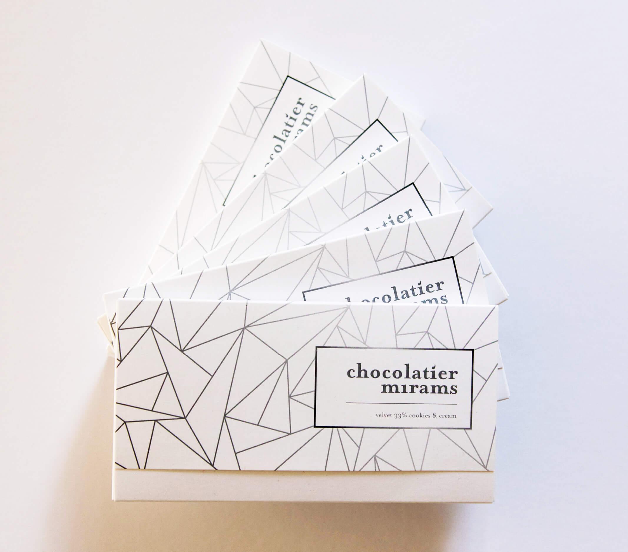 Chocolatier Mirams Packaging