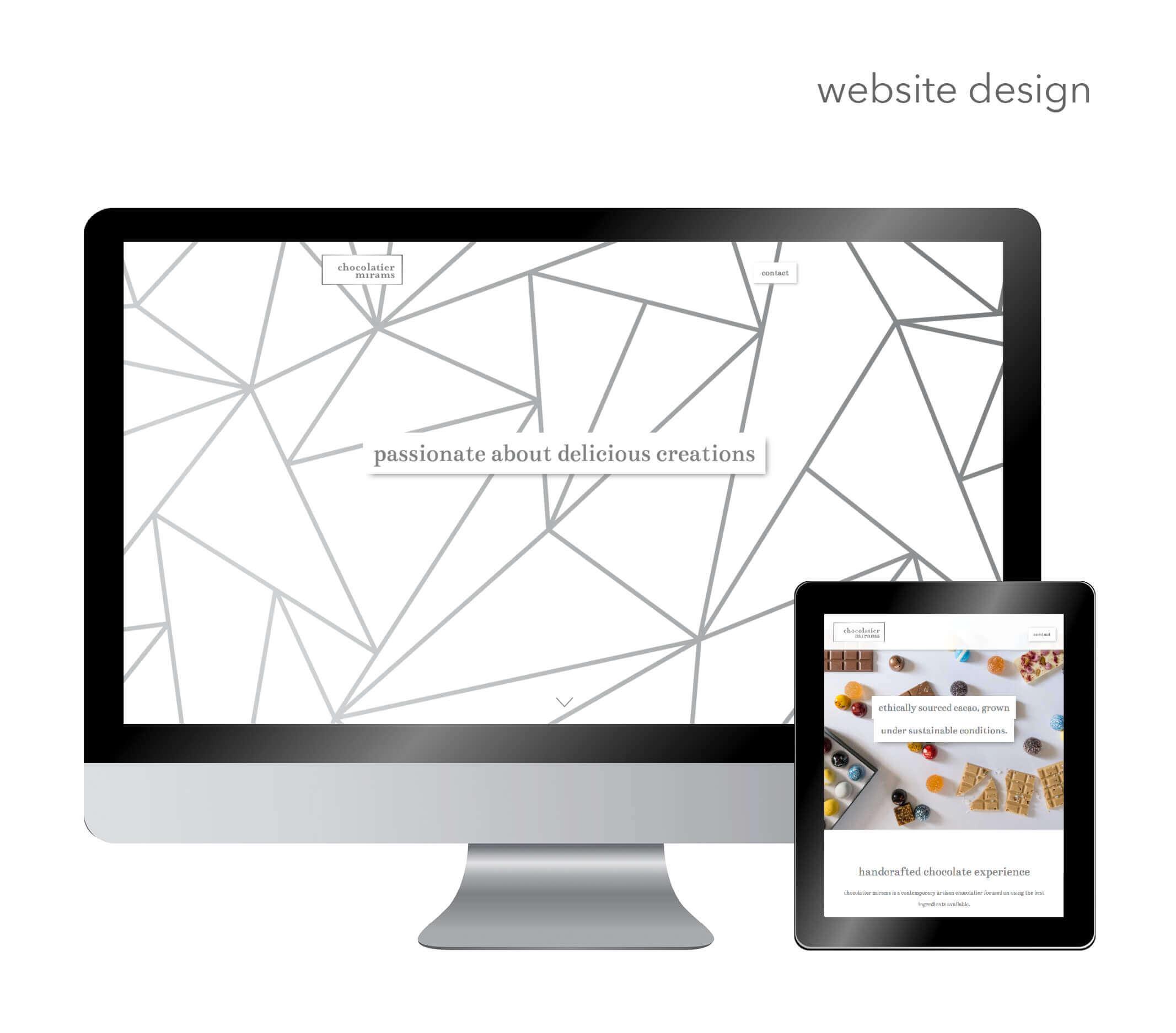 Chocolatier Mirams Website