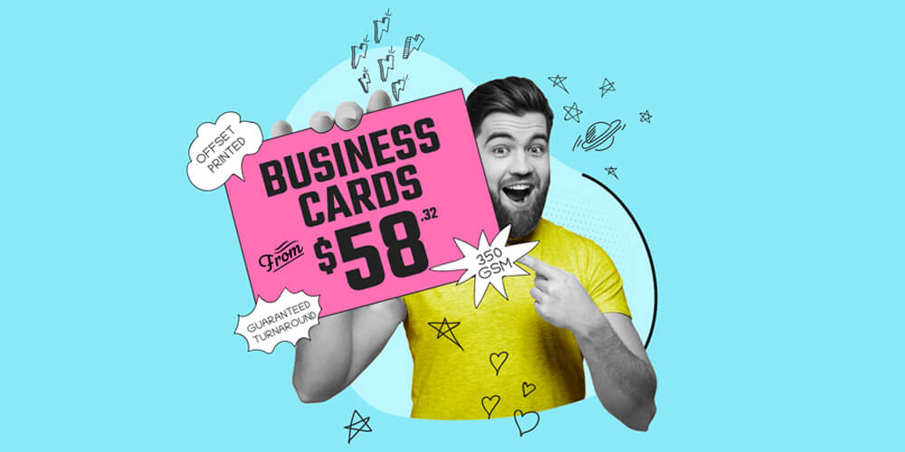 Offset Printed Business Cards from only $59